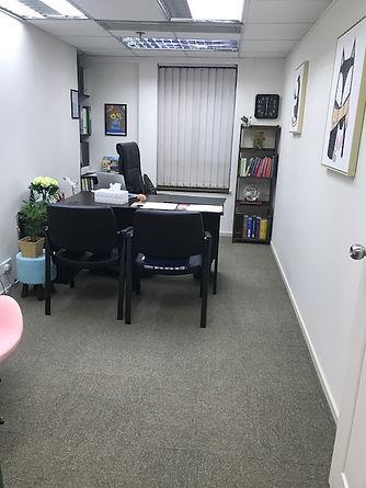 Spacious consultation room