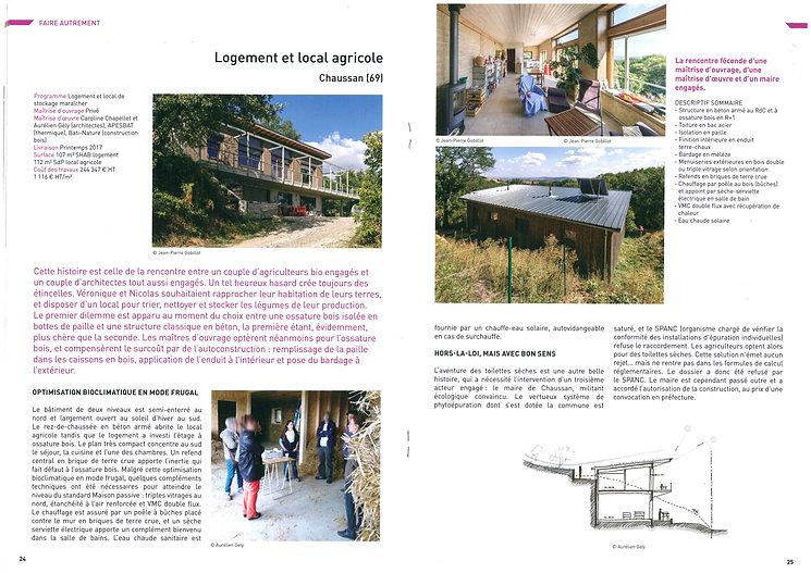 Projet architecte primé Off DD 2019