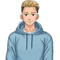LIVE2D用フィットネスキャラクター