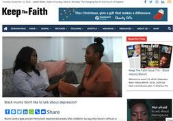 Sandra Igwe on Keep the Faith