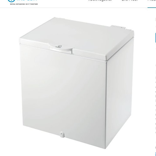Indesit OSIA200H2 200 litre Chest Freezer