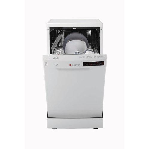 Hoover HDP2D1049W-80 Freestanding Slimline Dishwasher