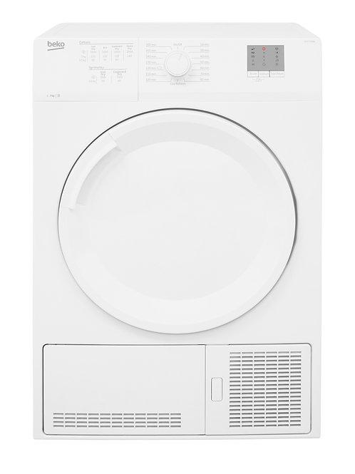 Beko DTGCT7000W White7kg  Condenser Dryer Time Dry