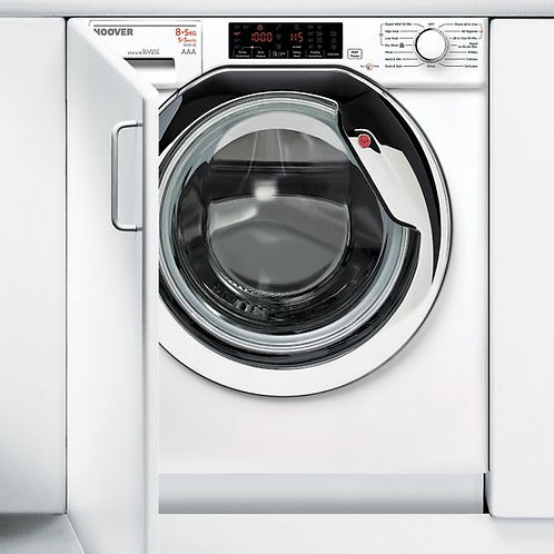 Hoover HBWD8514DAC-80 Built in Washer Dryer