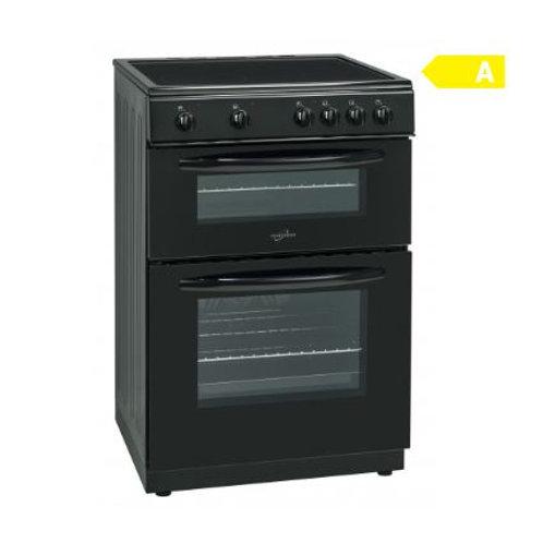 Statesman EDC60B Black Double Oven