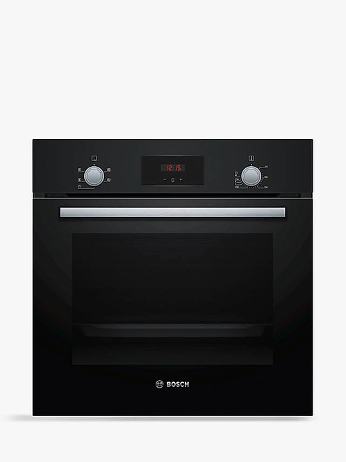 Bosch HHF113BA0B Black Single Oven Built-in