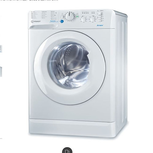 Indesit BWSC61251XWUKN 1200 Spin 6 kg