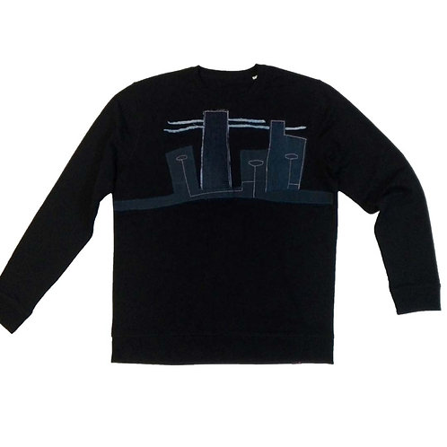 Sweater Strange lights in Denimtown XXL