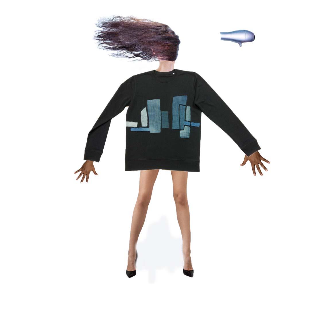 Toevoegen Model fohn met benen