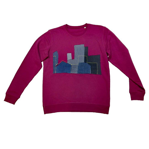 Sweater Color the city XL