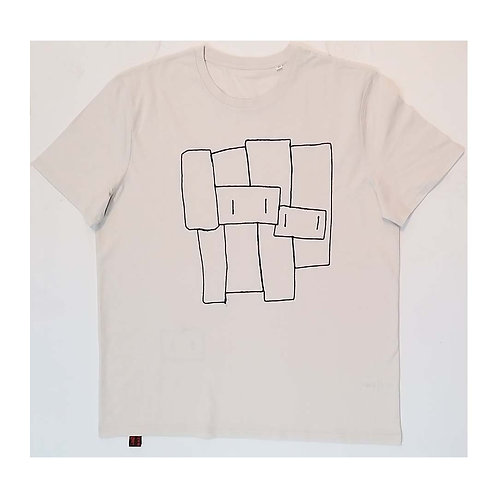 Together on the wall 3XL Off white