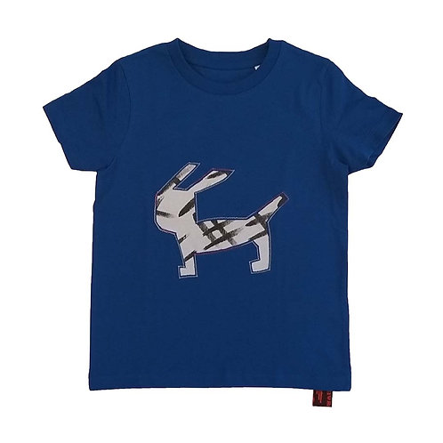 T shirt kids Hondje Haas 110-116