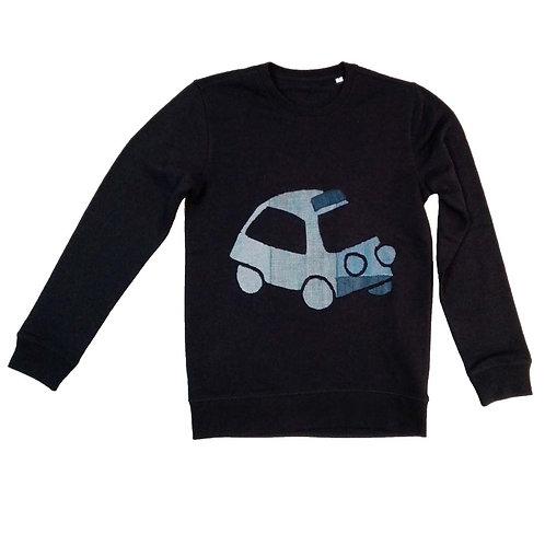 Sweater Step in my blue car S
