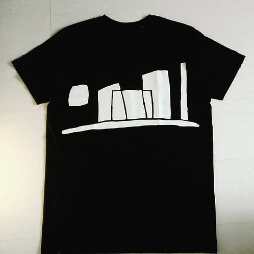 T-shirt Skyline Sun is coming L