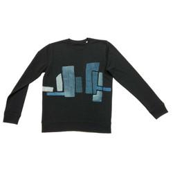 Sweater zwart East meets west 1a