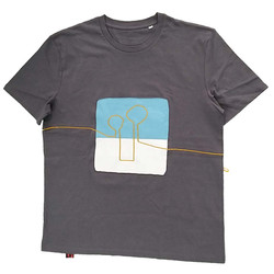 T shirt The Yellow line