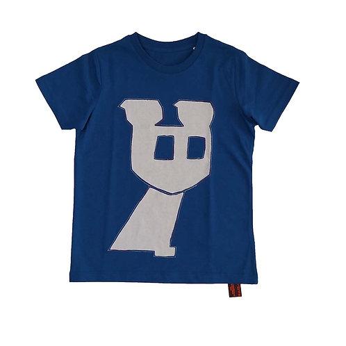 T shirt kids Wachten op... (7-8yr 122-128)
