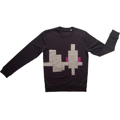 Sweater Purple sun M/L