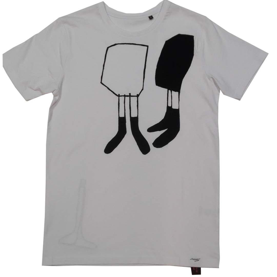 Shirt wit Corrie en Toos S 1a