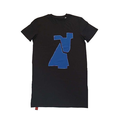 J shirt Blue dog M