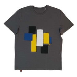 t shirt grey Difference XL