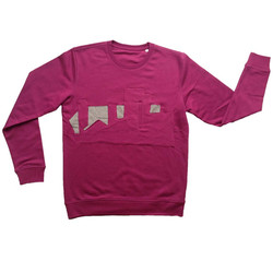 Sweater purple Purpletown L 1a