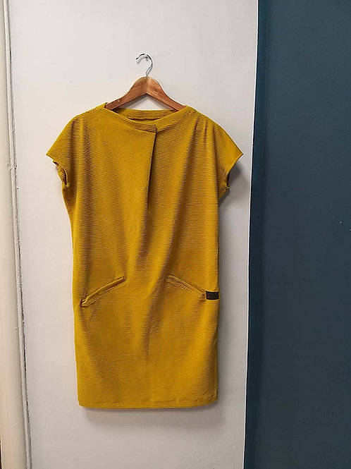 Own design My yellow shirtdress