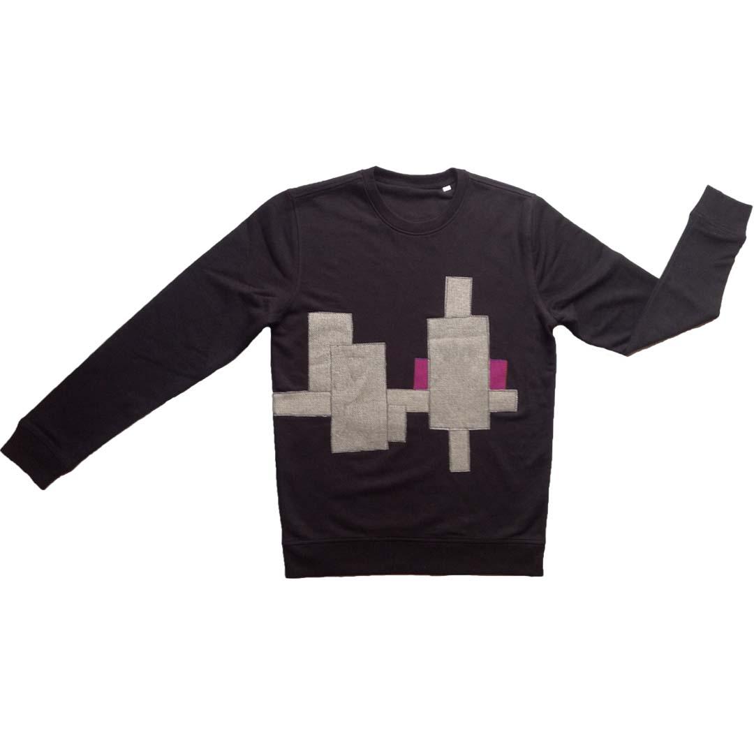 Sweater zwart Purpe sun L 1a