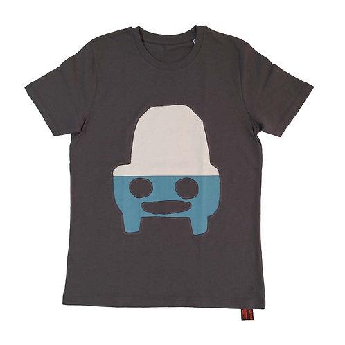 T shirt kids Meneer hoedauto (9-11yr 134-146)
