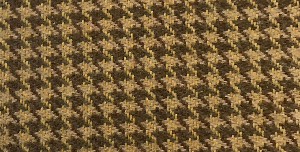 Brown and Carmel - Houndstooth