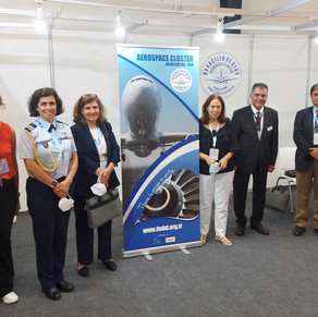 We hosted our guests from the Portuguese Embassy at our IDEF 2021 exhibition stand