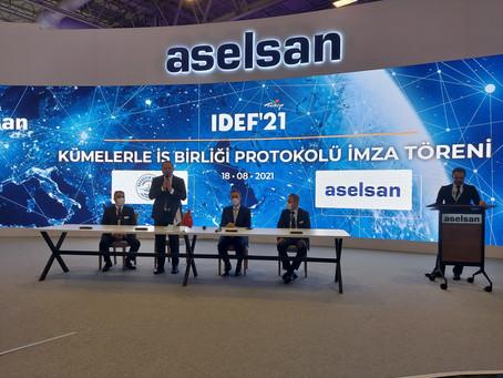 Havacılık ve Uzay Kümelenmesi Derneği ASELSAN ile İşbirliği Protokolü imzaladı