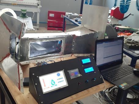 Ege Üniversitesi Havacılık MYO Rüzgar Tüneli projesini tamamlamıştır