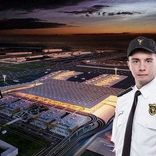 Dünya'nın en büyük havalimanı inşaatında güvenlik Yeniçeri'ye emanet
