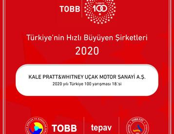 TOBB Türkiye 100 Ödül Töreni