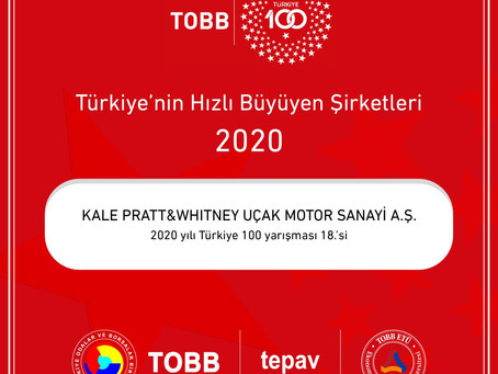 TOBB Turkey 100 Awards Ceremony