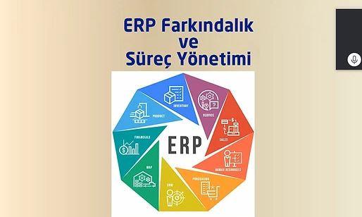 ERP Farkındalık ve Süreç Yönetimi Eğitimi