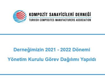 Kompozit Sanayicileri Derneği 2020-2021 Yönetim Kurulu Görev Dağılımı Gerçekleştirildi.