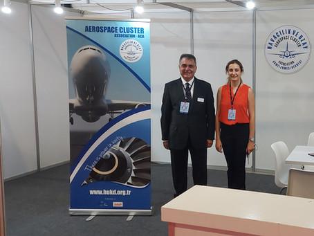 Havacılık ve Uzay Kümelenmesi Derneği IDEF 2021 Fuarında