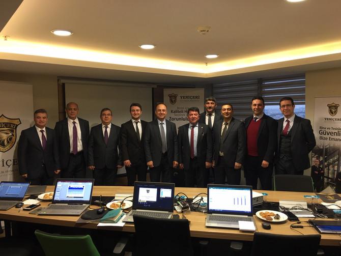 4'ncü değerlendirme toplantısını şirket merkezimiz Taksim'de gerçekleştirdik.