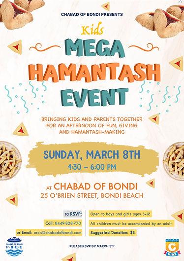 Mega Hamentash Event