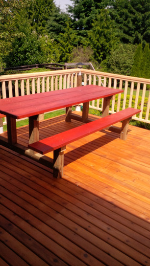 The Great Canadian Picnic Table 8' Finis