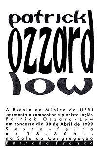 POL UFRJ Rio Concert Cover 30-April-1999