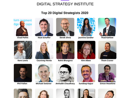 TOP 20 Digital Strategists 2020
