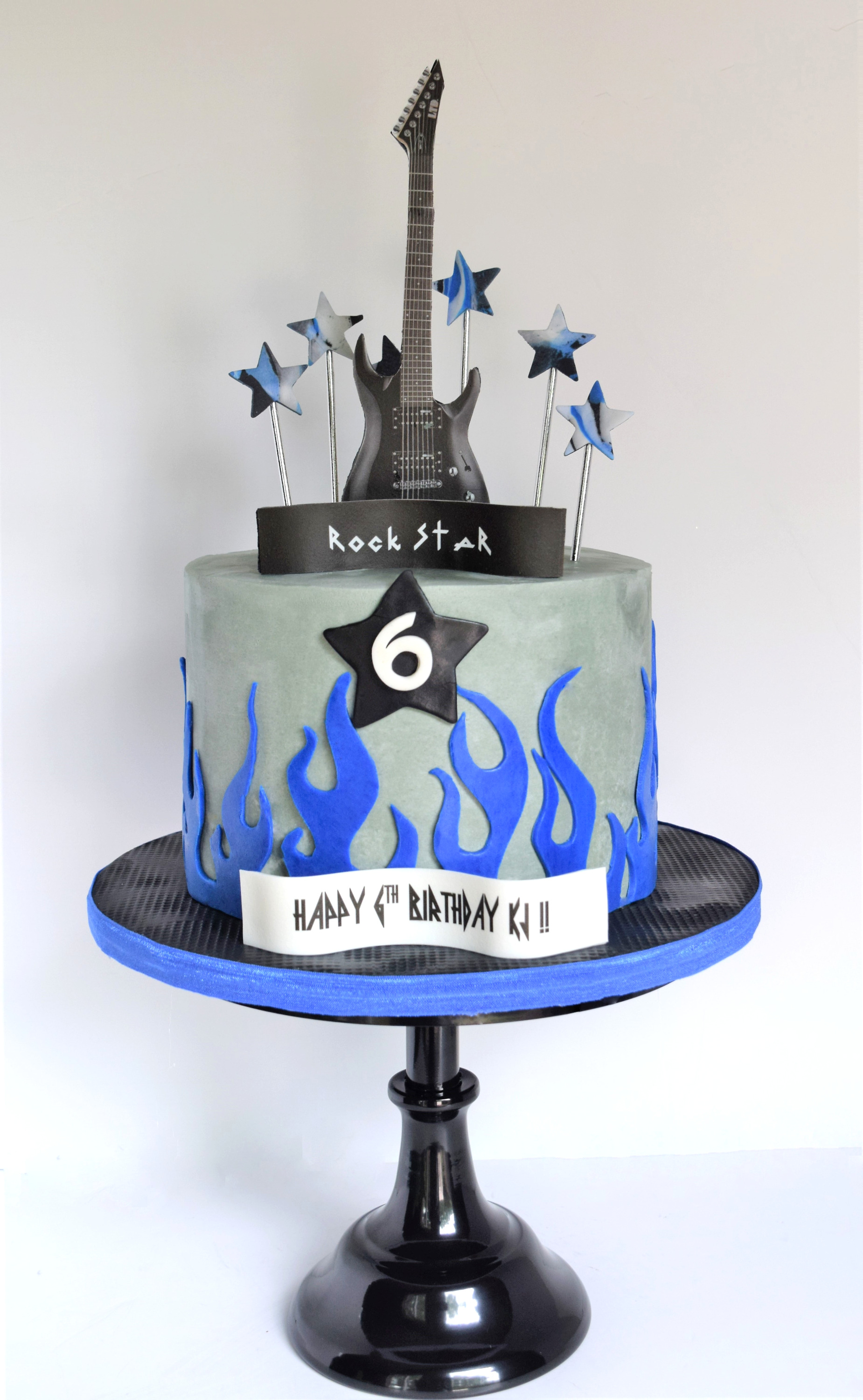 Rock Star Themed Cake
