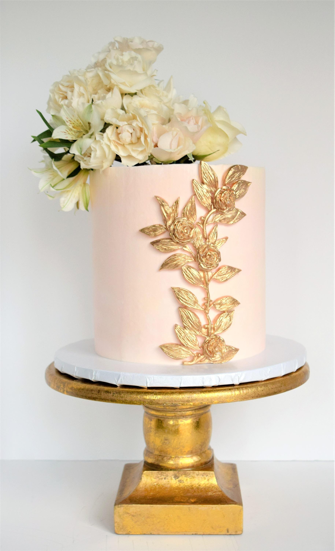 Elegant Custom Birthday Cake