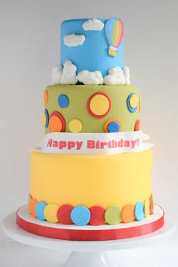 Kid's Birthday Themed Cake