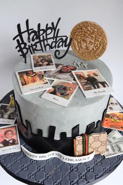 Snapshots Themed Birthday Cake