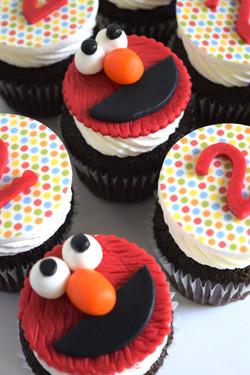 Custom Birthday Cupcakes