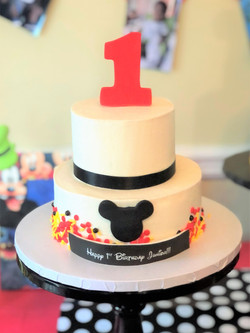 Mickey Mouse Themed Smash Cake